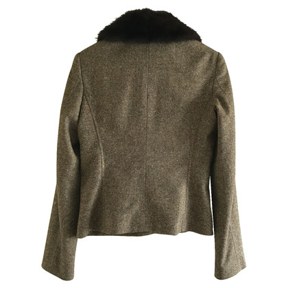 Dolce & Gabbana Jacket with mink collar
