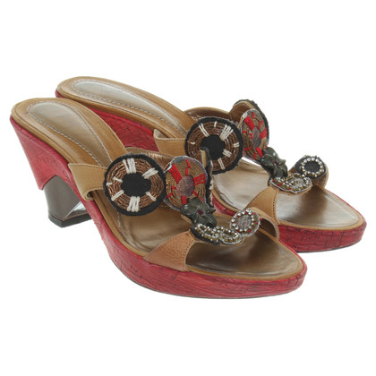 Baldinini Wedges in multi gekleurd