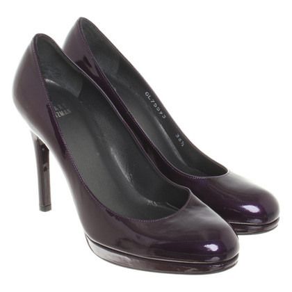 Stuart Weitzman pumps in viola