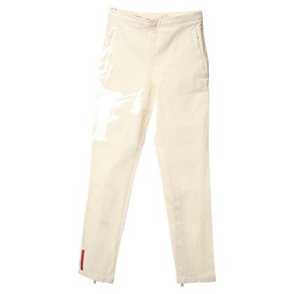 Prada Pantalone in bianco