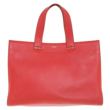 Giorgio Armani Handtasche in Rot