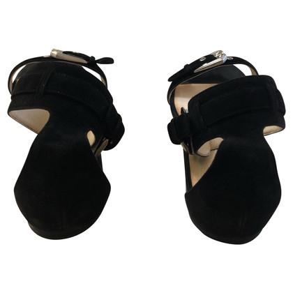 Balmain Sandales noires