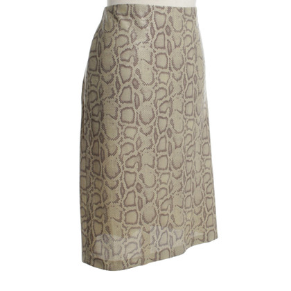 Marc Cain skirt with reptile pattern