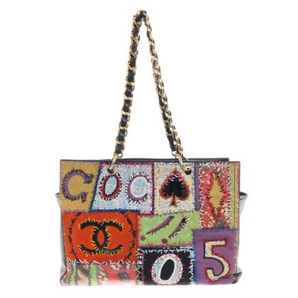 Chanel Handtas met patchwork-ontwerp