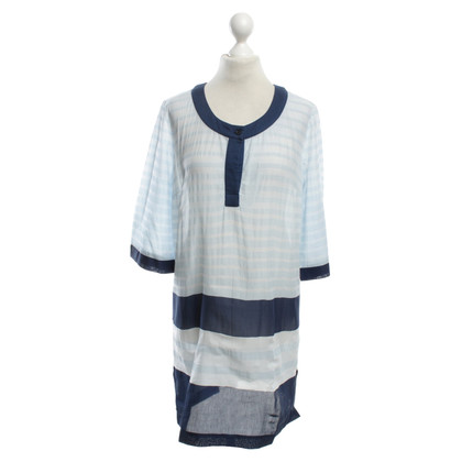Max Mara Blouse dress with stripes
