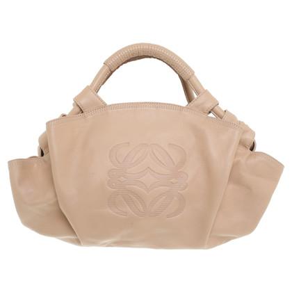 Loewe Handtasche in Nude