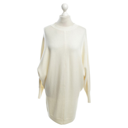 Maje Strickkleid in Creme