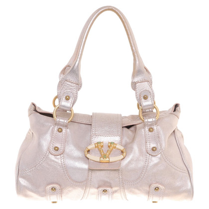 Valentino Handbag in metallic look