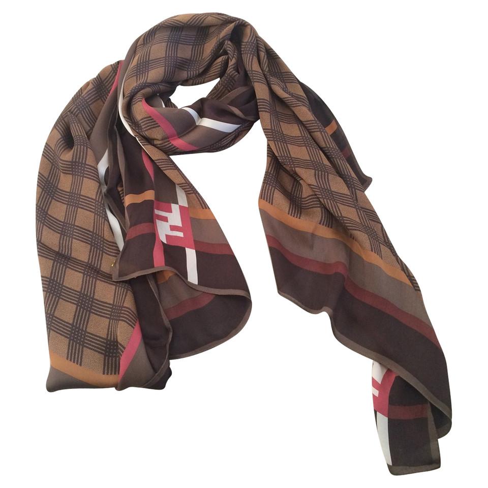 fendi silk scarf buy second fendi silk scarf for