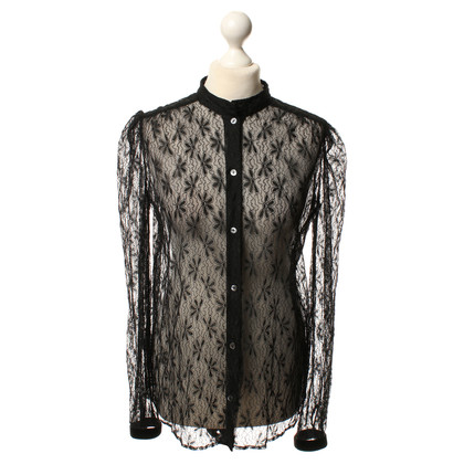 Dolce & Gabbana Lace blouse in zwart