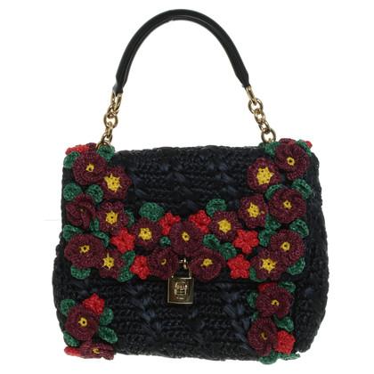 Dolce & Gabbana Borsa fatta di rafia