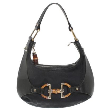 Gucci Handbag with bamboo application