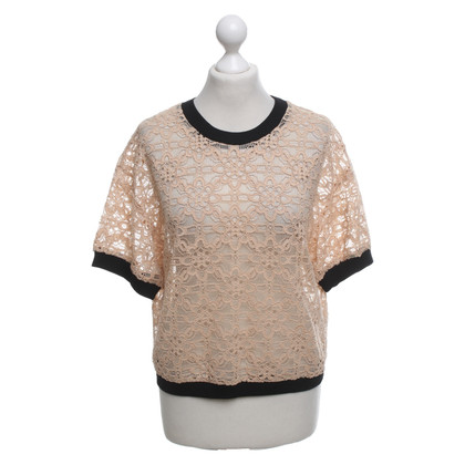 DKNY Shirt made of lace