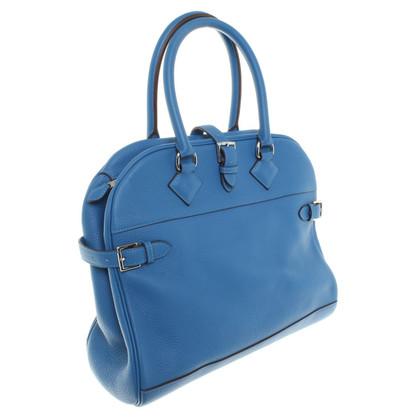 Hermès Handbag Atlas Blue