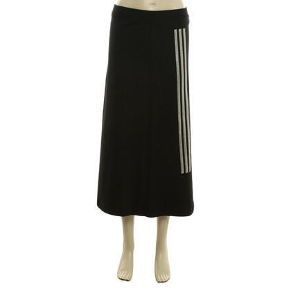 Y-3 Lange rok in zwart
