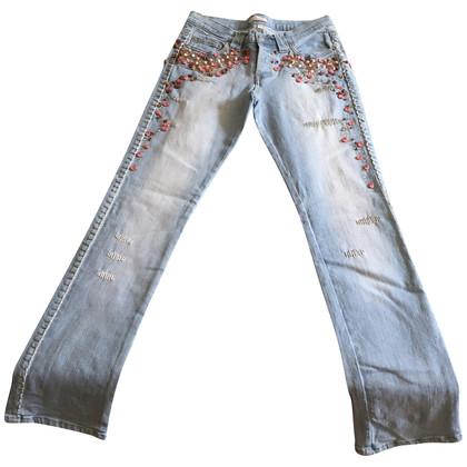 Pinko Jeans met halfedelstenen