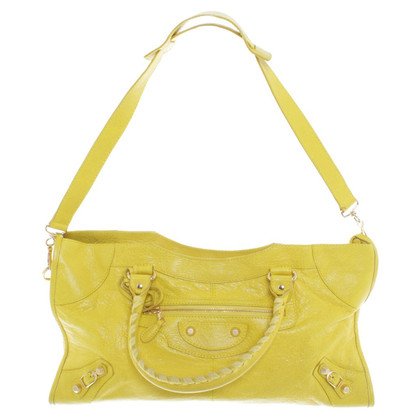 Balenciaga Handbag in yellow