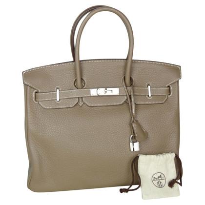"Hermès ""Birkin Bag 35"" aus Clémence Leder"