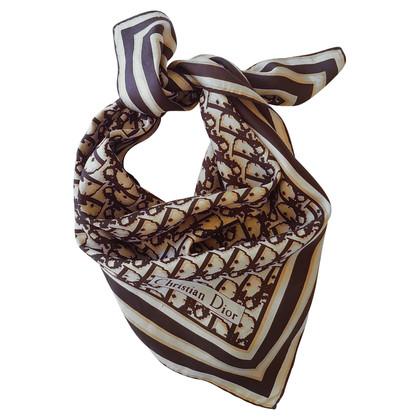 Christian Dior Doek met logo patroon