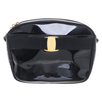 Salvatore Ferragamo Shoulder bag in black