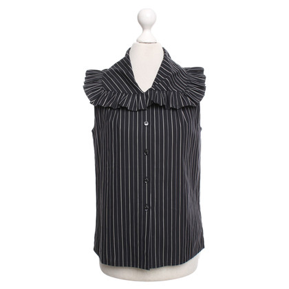 Chanel Blouse in donkerblauw