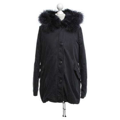 Blonde No8 Coat in dark blue