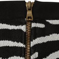 Balmain skirt in Zebra look