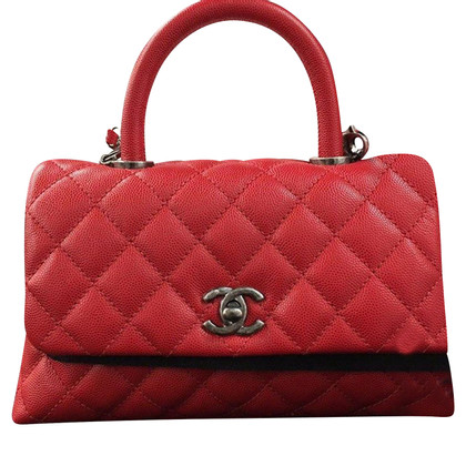 "Chanel ""Classic Flap Bag Mini Top Handle"""