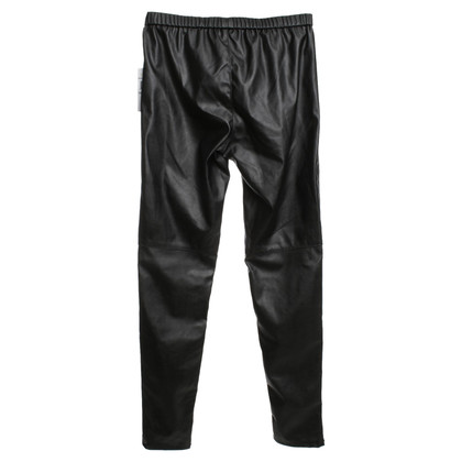 Michael Kors Leggings in Leder-Optik