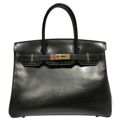 """Hermès """"Birkin Bag 30 Box Calf Leather"""""""
