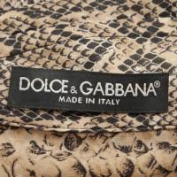 Dolce & Gabbana Shirt met animal print