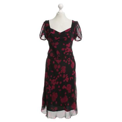 Moschino Kleid mit floralem Print