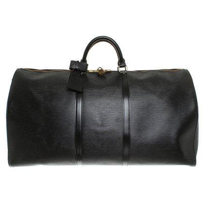 "Louis Vuitton ""Keepall 60 EPI leather"" in black"