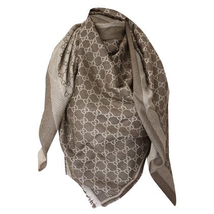 Gucci Guccissima doek in bruin