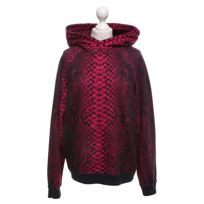 Christopher Kane Hoodie with animal print