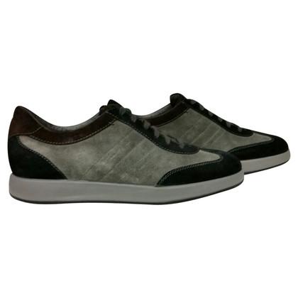 Santoni Sneakers Suede
