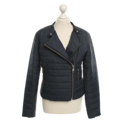 Closed Gewatteerde jas in Dark Blue