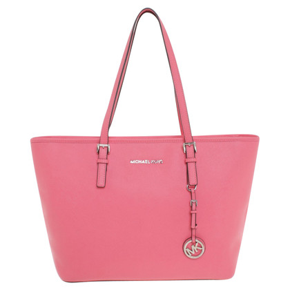 "Michael Kors ""Jet Set Travel TZ Tote Coral"""