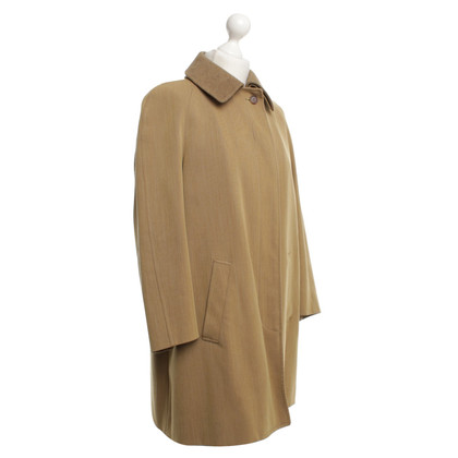 Loro Piana Coat in ocher