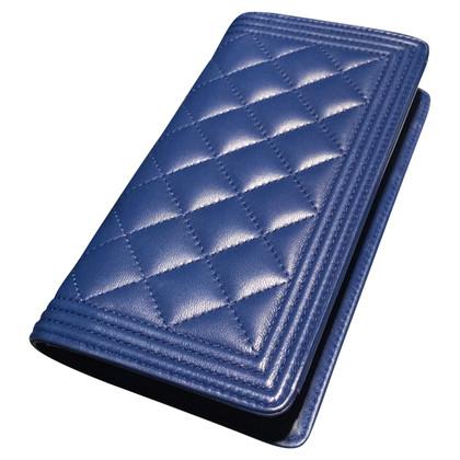 Chanel Porte-monnaie en bleu