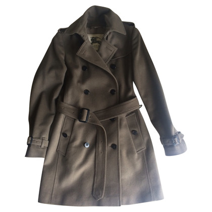 Burberry Trenchcoat aus Kaschmir/Wolle
