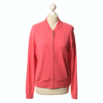 Joe Taft Strickjacke in Pink