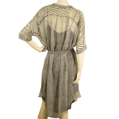 Isabel Marant Etoile Kleid in Schwarz/Weiß