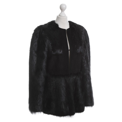 Chloé Fur jacket with suede
