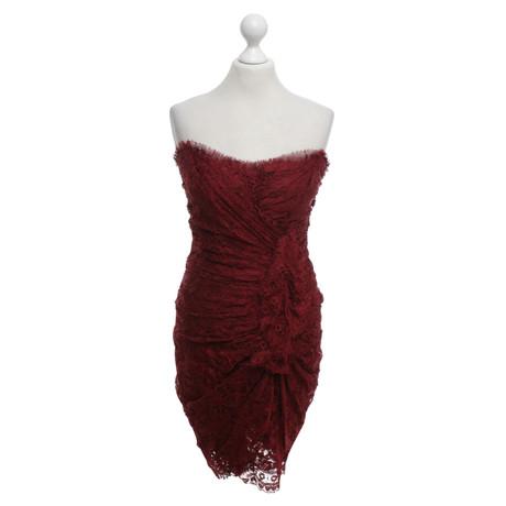 Dolce & Gabbana Kleid in Bordeauxrot Bordeaux