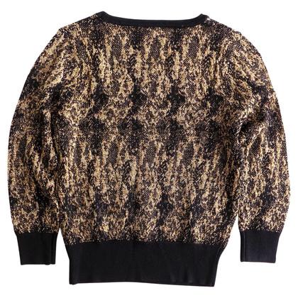 Dries van Noten Sweater in black / gold