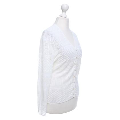 Iris von Arnim Vest in White