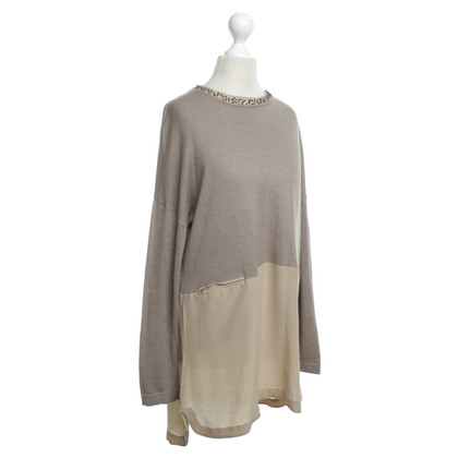 Hoss Intropia Maxi sweater in beige