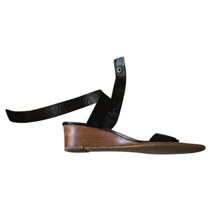 Veronique Branquinho sandali di cuoio