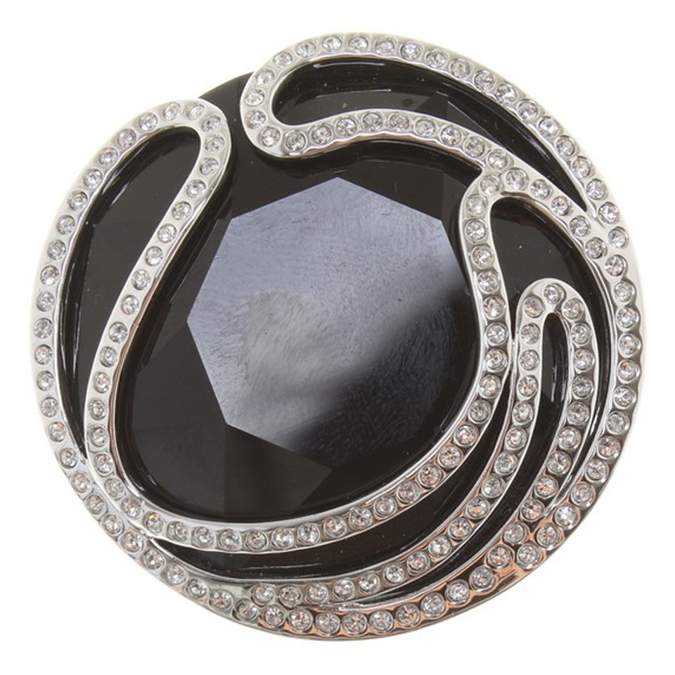 swarovski ring in schwarz second hand swarovski ring in. Black Bedroom Furniture Sets. Home Design Ideas